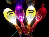10pcs lot 19CM LED Flashing Maraca Stick, Wedding Birthday Pa...