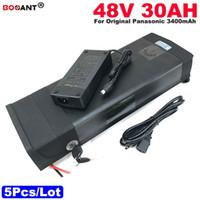 5pcs / Lot 48V 30AH Batteria al litio per E-Bike 1200 W 48 V Batteria per scooter originale per batteria originale Samsung 30B 13S 48V