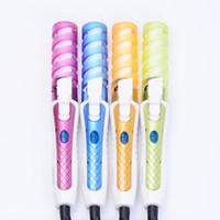 1pc Elektrik Sihirli Saç Şekillendirme Araçları Saç bigudi Merdane Pro Spiral Curling Demir Wand Curl Styler Güzellik Aracı