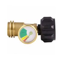 Grelhador de churrasco Medidor de Pressão Indicador de Gás Indicador de Gás de Combustível de Bronze com desligamento automático
