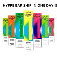 HYPPE BAR monouso Dispositivo Pod HYPPE BAR monouso Dispositivo Pod Kit 280mAh Batteria 1.3ml cartucce nessuna perdita Vape penna VS MR VAPORE
