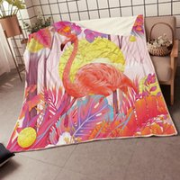 BEST. WENSD Quality Fleece Blanket Pink Blanket Cartoon Flami...
