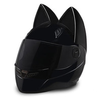 NTS- 003 NITRINOS Brand motorcycle helmet full face with cat ...