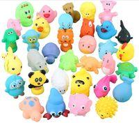2020 새로운 도매 아기 목욕 물 장난감 완구 사운드 고무 여러 오리 어린이 입욕 수영 비치 선물