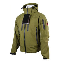 Softshell Jacket Men antivento Giacca impermeabile con cappuccio inverno Windbreaker cappotto di pioggia Soft Shell Trekking Escursionismo Coat