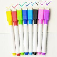 Renkli siyah okul sınıf beyaz tahta kalem kuru beyaz tahta belirteçleri silgi öğrenci çocuk çizim kalem inşa