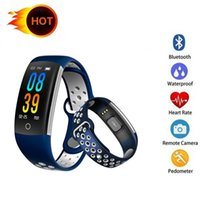 Q6 Smart Band Heart Rate Monitor Fitness Bracelet IP68 Water...