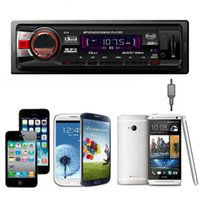 Car Bluetooth Stereo Aux Input USB SD FM MP3 Receiver Player...