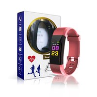 Original ID115 Plus Color LCD Screen Smart Bracelet Fitness ...