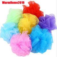 20g Sponge Flower Bath Ball Body Cleaning Mesh Shower Nylon ...