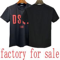 20SS T-shirt pour homme Bermuda européen hip-hop T-shirt à manches courtes à manches courtes Été Nouveau col rond coton chaud chemise pour hommes