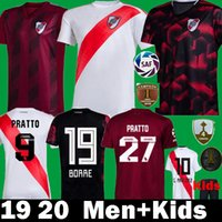 2019 CAMPEON 4 LIBERTADORES 2020 River Plate local tercera camiseta de fútbol 19 20 Kits para niños camisetas futbol MARTINEZ PEREZ Football Shrits