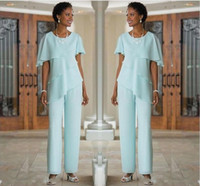 Custom Made Mother of the Bride Dresses Pants Suits Wedding ...