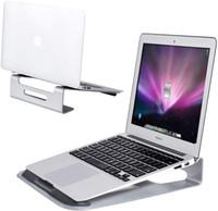 """Laptop Stand, Aluminium Ventilated Update Version Notebook Riser Ständer für 11 """"15.5"""" Laptop-Halter Ergonomische Riser Tragbarer Halter"""