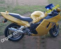 دراجة نارية شل كيت لهوندا CBR1100XX Blackbird CBR 1100 XX CBRXX 1996-2007 Sport الأصفر Fairing Set Complete (حقن صب)