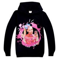 jojo Siwa sistemas de la ropa de los niños 4-12T niñas Pullover hoodies + pantalones de dos piezas de ropa de diseño 110-150cm niños niñas BSS401 mayorista