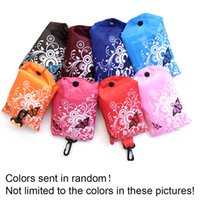 Eco Shopping Bags Flower Butterfly Oxford Cloth Foldable Sto...