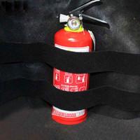 2шт багажник автомобиля хранить содержимое сумки быстрый огнетушитель держатель ремень безопасности комплект автомобиля-стайлинг