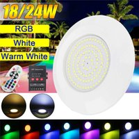 DC 12V 72 108 LED Swimming Pool Light with Remote Controller...