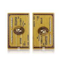 100% Gerçek Kapasite Kredi American Express Kartları Stil USB Flash Sürücü Memory Stick Kalem Sürücü 4 GB8GB16GB32GB 4 Renkler U Disk