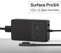 50 PCS 36W Surface Por 3 Por 4 Adaptateur Secteur 12 V 2.58A Adaptateur CA Tablet PC Chargeur Surface Surface Laptop 1625 Noir