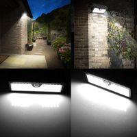 Światło słoneczne Outdoor Garden Light House Human Ciało Indukcyjne Light Outdoor Raine Super Bright Wall Lights Refraktuj Czujnik Wall Ligh
