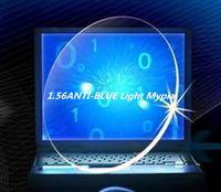 جديد الأشعة فوق البنفسجية نظارات الكمبيوتر الأزرق تخصيص 1.56 مؤشر النظارات الطبية العدسات اللاقطية قصر النظر الكمبيوتر باد الهاتف كتلة زرقاء