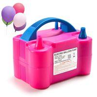 Ohanee Elektrische Ballonpumpe 220V Luftgebläse Ballons Party Dekoration Pumpe Für Ballons Tragbare Baloon Maschine EU-Stecker