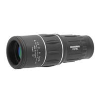 16x52 HD DUAL FOCUSO Monocular Impermeable Caza al aire libre Localización de alcance Telescopio Zoom Lente óptica Binoculares Lentes de recubrimiento