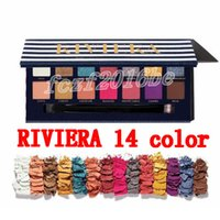 New Brand cosmetics RIVIERA 14 colors eye shadow palette Shi...
