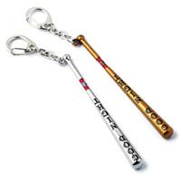 انتحار فرقة مضرب بيسبول سلسلة المفاتيح هارلي كوين خواتم مفتاح حامل للمجوهرات هدية Chaveiro سيارة الرجال تذكارية تأثيري