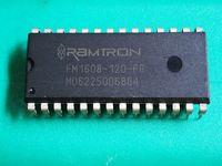 المرحلية الدائرة FM1608-120-PG-P FM1608-120 FM1608 64KB Bytewide فرام الذاكرة المتكاملة، PDIP28 / 28 دبابيس رقائق حزمة من البلاستيك مزدوجة في خط