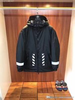17FW luxury brand designer Off Collaborate 3M Reflective Goo...