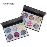BEAUTY GLAZED 6 Color Loose Matte Diamond Glitter Bar Shimme...