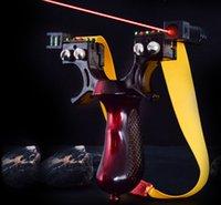 الراتنج الأحمر المقلاع المنجنيق الصيد الرماية Slingbow مستوى متر شقة الشريط المطاطي اطلاق النار على الهدف الليزر Aming الرافعة طلقة في الهواء الطلق لعبة لعبة