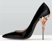 2019 comode scarpe da sposa firmate Scarpe con tacchi color seta eden per scarpe da ballo da sera