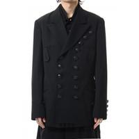 S ~ 6XL !!! 2020 nuovo stile vestito allentato abbigliamento Yamamoto personalità personalizzabile nuovi uomini di due doppiopetto semplice vestito casuale