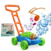 Poussez la main pour enfants électronique Bubble Car Musique Bubble Tondeuse Outdoor Toy Walker jouets à pousser pour les enfants d'été Cadeau jouet pour les enfants