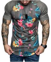 Em torno do pescoço fino 2019 Homens de Moda de Nova cor sólida manga comprida listrada da dobra do Raglan Estilo da luva T camisa dos homens cobre T