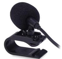 المهنيين السيارات الصوت ميكروفون 3.5 ملليمتر جاك التوصيل ميكروفون ستيريو مصغرة ميكروفون خارجي لاستريو ل السيارات دي في دي راديو 3M طويلة المهاجرات