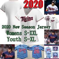 Lady & Youth 2020 Josh Donaldson 60th Season Jersey Max Kepler Joe Mauer Byron Buxton Kirby Puckett Miguel Sano Eddie Rosario Nelson Cruz