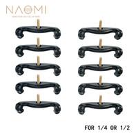 NAOMI 10 PCS 1/4 1/2 Violon Épaule Repose Pieds Pour 1/4 1/2 Violon Plastique Violon Pièces Accessoires Neuf