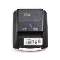 Nouveau est arrivé Banknote Bill Detector Dénomination Valeur du compteur UV / MG / IR / DD Contrefaçon Détecteur monnaie billets testeur