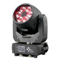6 adet çin hareketli kafaları ışın kafası ışın yıkama yakınlaştırma dmx led kafa ışın ışık hareketli 4in1 mini'yi RGBW 6x40w