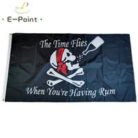 Zaman Rum Bayrağı 3 * 5 ft (90cm * 150cm) Polyester bayrak Banner dekorasyon uçan ev bahçe bayrak Bayram hediyesi sahip olduğunuzda Sinekler