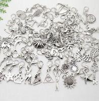 Commercio all'ingrosso - MIC IN MAGAZZINO 100 Pz / lotto ciondoli misti ciondolo aragosta chiusura ciondola per monili braccialetto che fanno scoperte