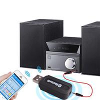 USB Wireless Bluetooth Musik-Audioempfänger Dongle-Adapter 3,5 mm Klinke Audiokabel für Aux Auto Iphone Lautsprecher mp3