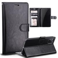 حقيبة جلد للحصول على هاتف اي فون 11 برو MAX XS XR X 8 7 زائد ريترو فليب حامل الإطار المحفظة صورة الغلاف سامسونج Note10