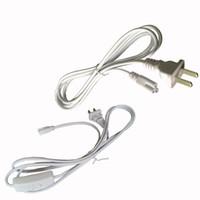통합 Led 튜브 전원 케이블 3 핀 12 24 48 96 인치 와이어 커넥터 T8 튜브 커넥터 튜브 링크