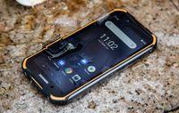 IP68 DOOGEE S40 라이트 쿼드 코어 2기가바이트 16기가바이트 안드로이드 9.0 견고한 전화 이동 전화 5.5 인치 디스플레이 4650mAh 8.0MP NFC 지문